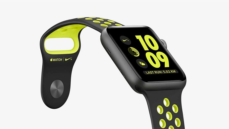 With features like built-in GPS and altimeter, Apple Watch Nike+ is designed to help you take your run to the next level. You can even pair your watch wirelessly with compatible gym equipment. Automatically sync your playlists for more motivation. And because Apple Watch Nike+ is swim-proof, you can take a post-run dip in the pool.   Apple Watch Nike + Series 3  (GPS) - $309