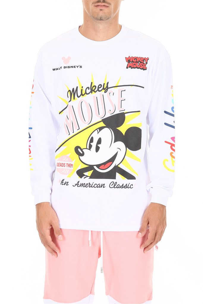 Lacoste    Lacoste Disney Collaboration Mickey Face Sweater    $195