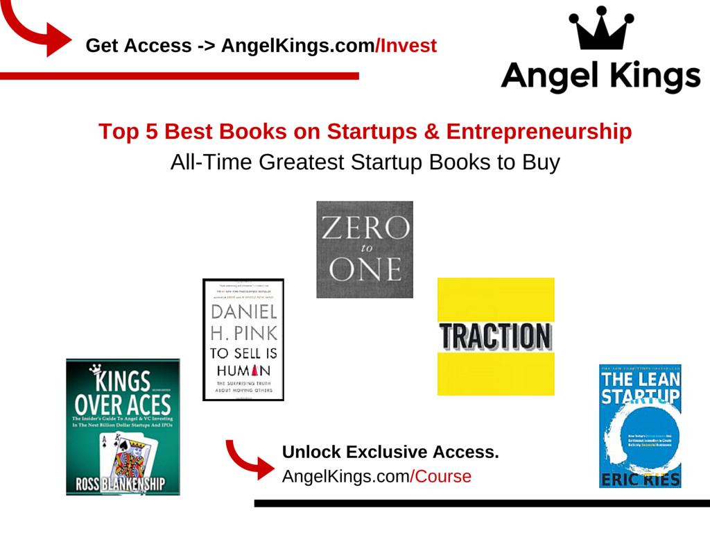 Best Books for Startups & Entrepreneurs