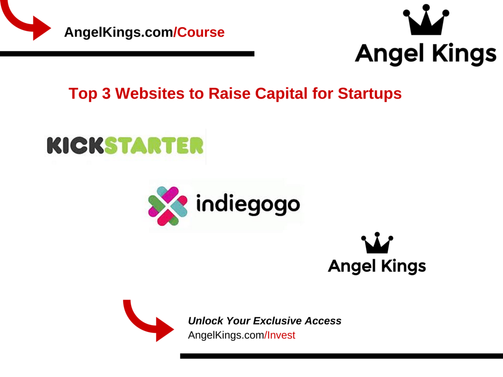 Here are the top 3 startup investing platforms to raise capital (by AngelKings.com)