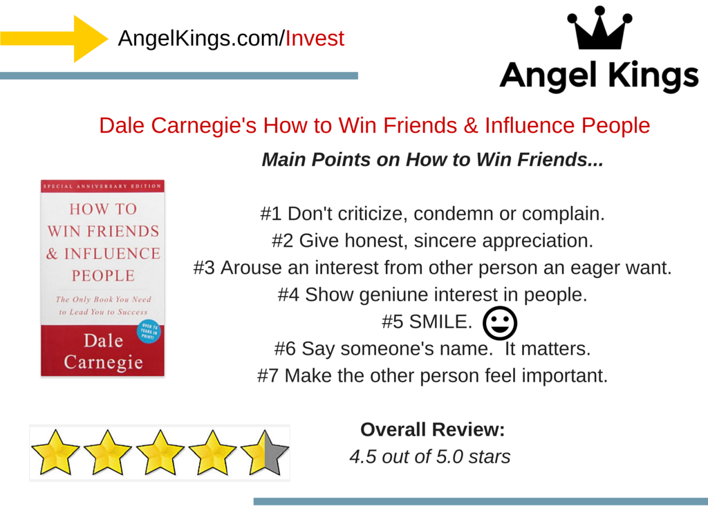 """What are the Main Points of """"How To Win Friends and Influence People""""?"""