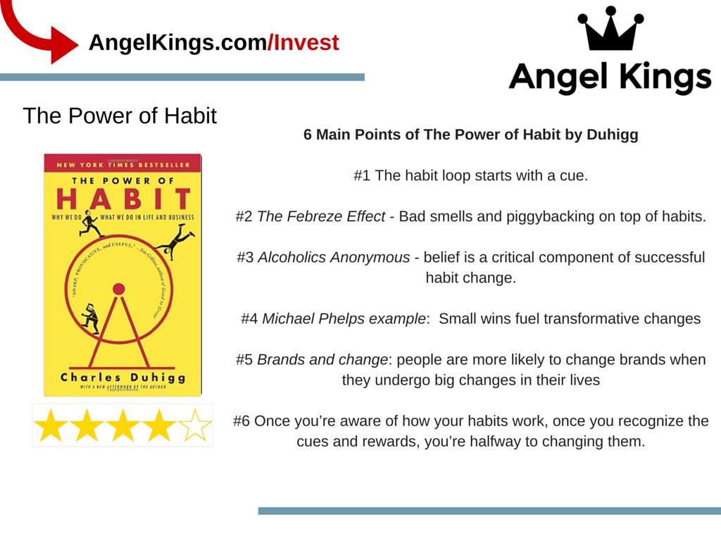 How Does Establishing a Few Good Habits Ensure A Business's Success?