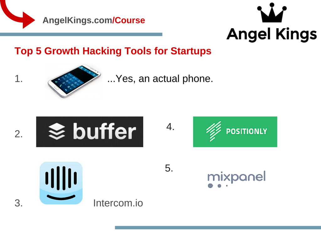 What are the 5 Growth Hacking Tools For Your Startups?