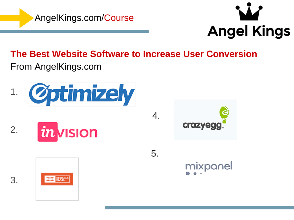 The Top 5 Best Conversion Improvement Software, Tools & Resources to Use