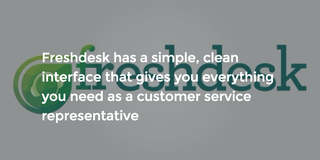 We recommend Freshdesk as the best CRM against Zendesk and Zoho.
