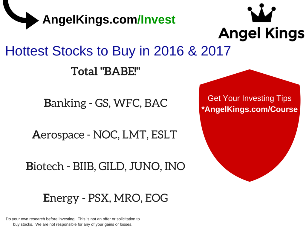 Hottest Stocks to Buy (list by AngelKings.com)