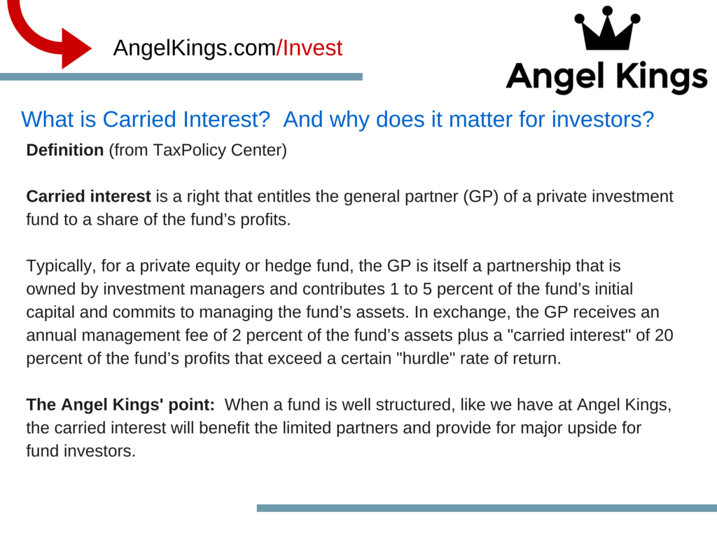 What is Carried Interest?