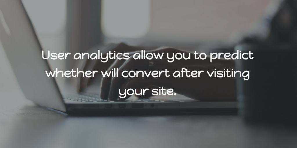 How are user analytics software useful to startups?