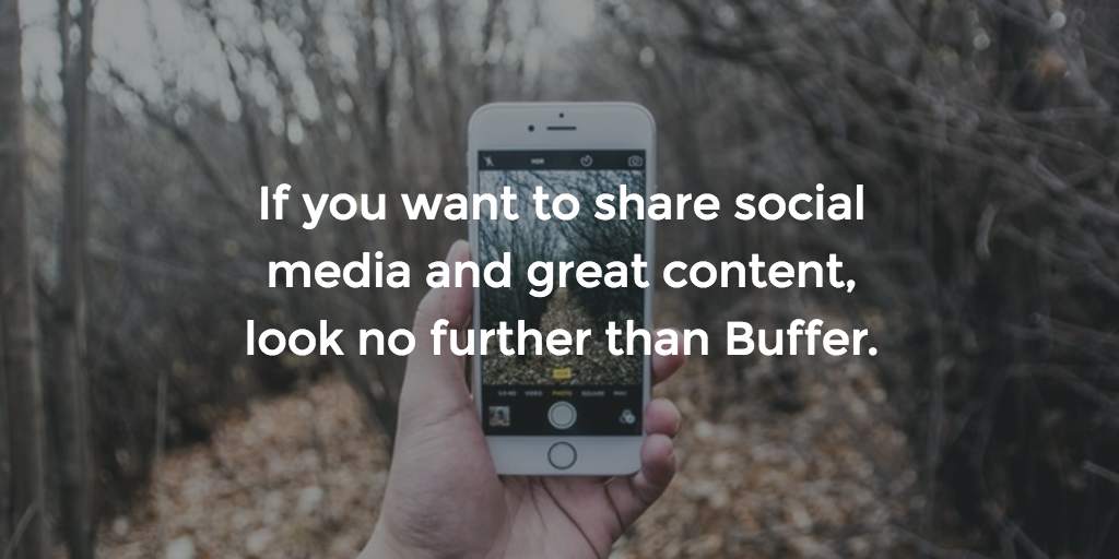 Buffer is one of our most recommended startups.