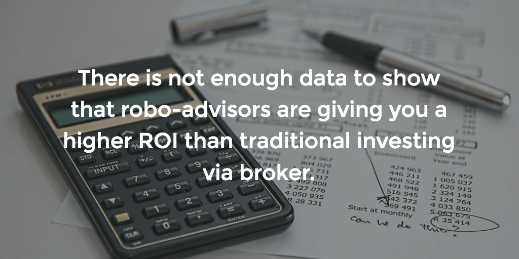 Wealthfront vs Betterment: How do we know that robo-advisors make investors more money than traditional brokers?