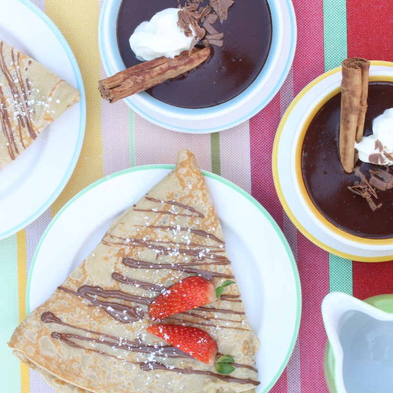 """Don't leave town before you taste our 'French inspired"""" crepes, sweet and savoury, gluten free and vegan options also on offer. They are a favourite of the best crepe connoisseur."""