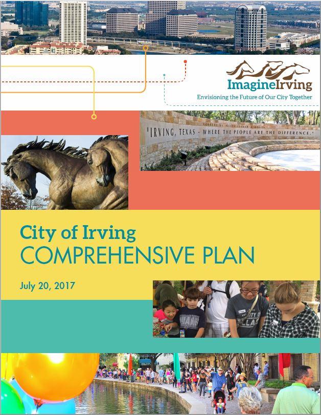 Imagine Irving Comprehensive Plan    Irving, TX    2014-2016