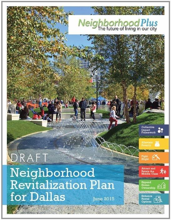 Neighborhood Plus Revitalization Plan   Dallas, TX   2014-2015