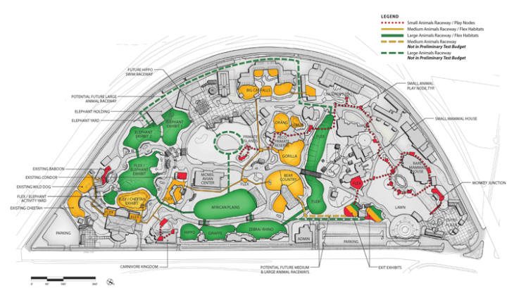 Philadelphia Zoo. Image courtesy of Landscape Architecture Magazine.