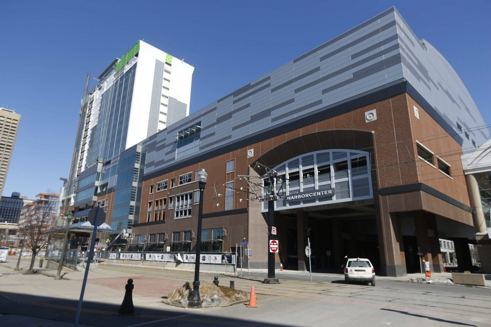 How could I not showcase the newest venue in our own backyard, theHarborCenter! Image courtesy of  The Buffalo News