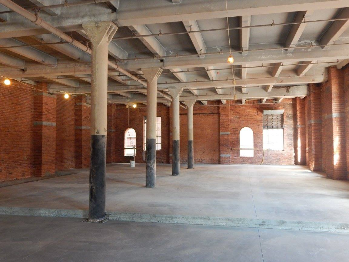 Photo from the recent Hard Hat Tour given by Preservation Buffalo Niagara
