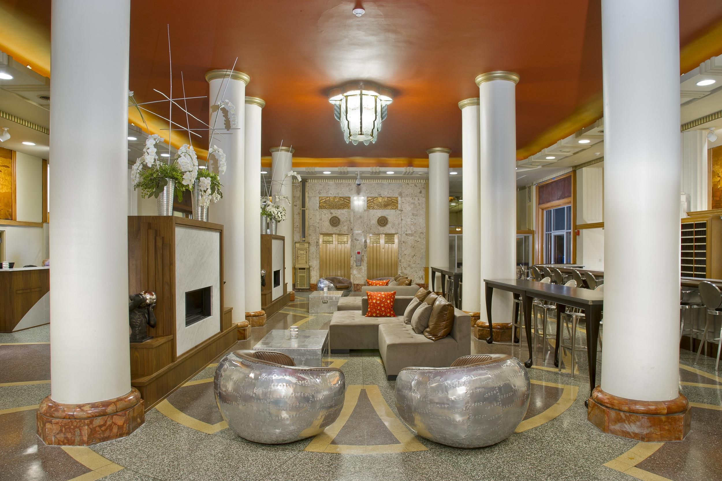 Hotel Lafayette Lobby