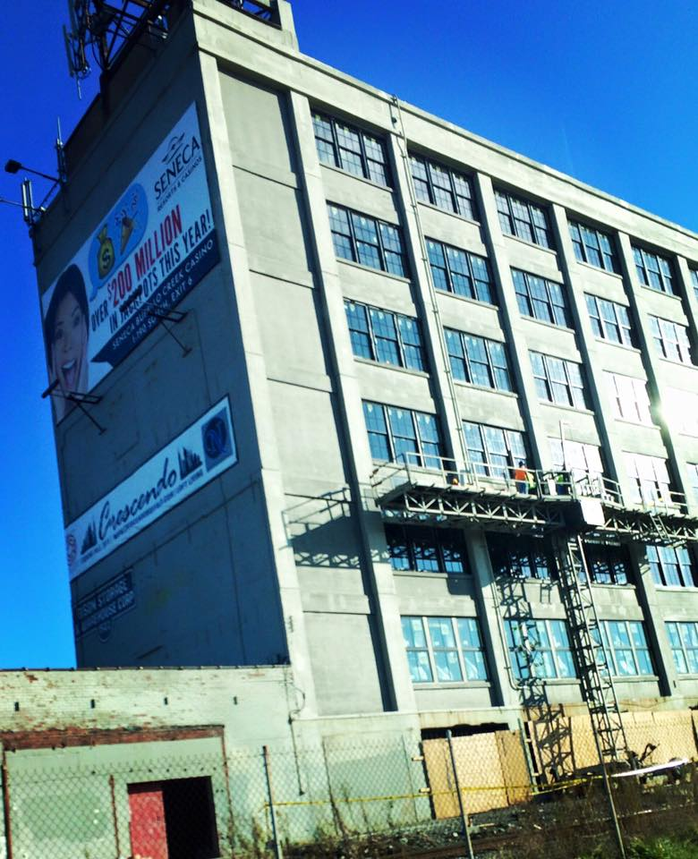 From rendering to real life- the Crescendo Lofts project at 1502 Niagara is moving right along! Steve Carmina recently paired up with Preservation Buffalo Niagara and our partners, Natale Builders, to give a Hard hat Tour of the property!