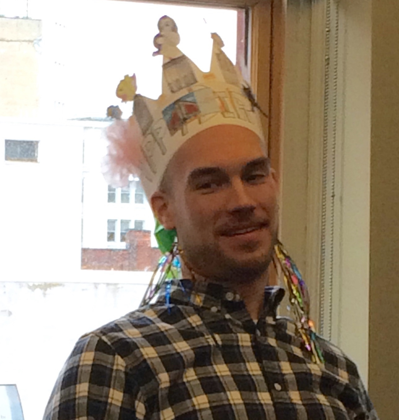 The CWM Birthday Crown just gets better over time, don't you think Jon?!