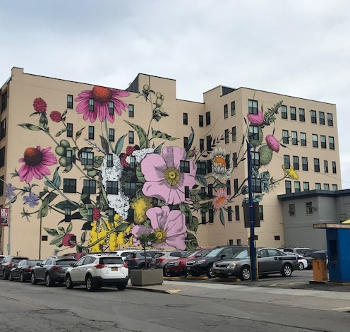 The Final Product - Check out the new mural in our neighborhood! #Buffalove