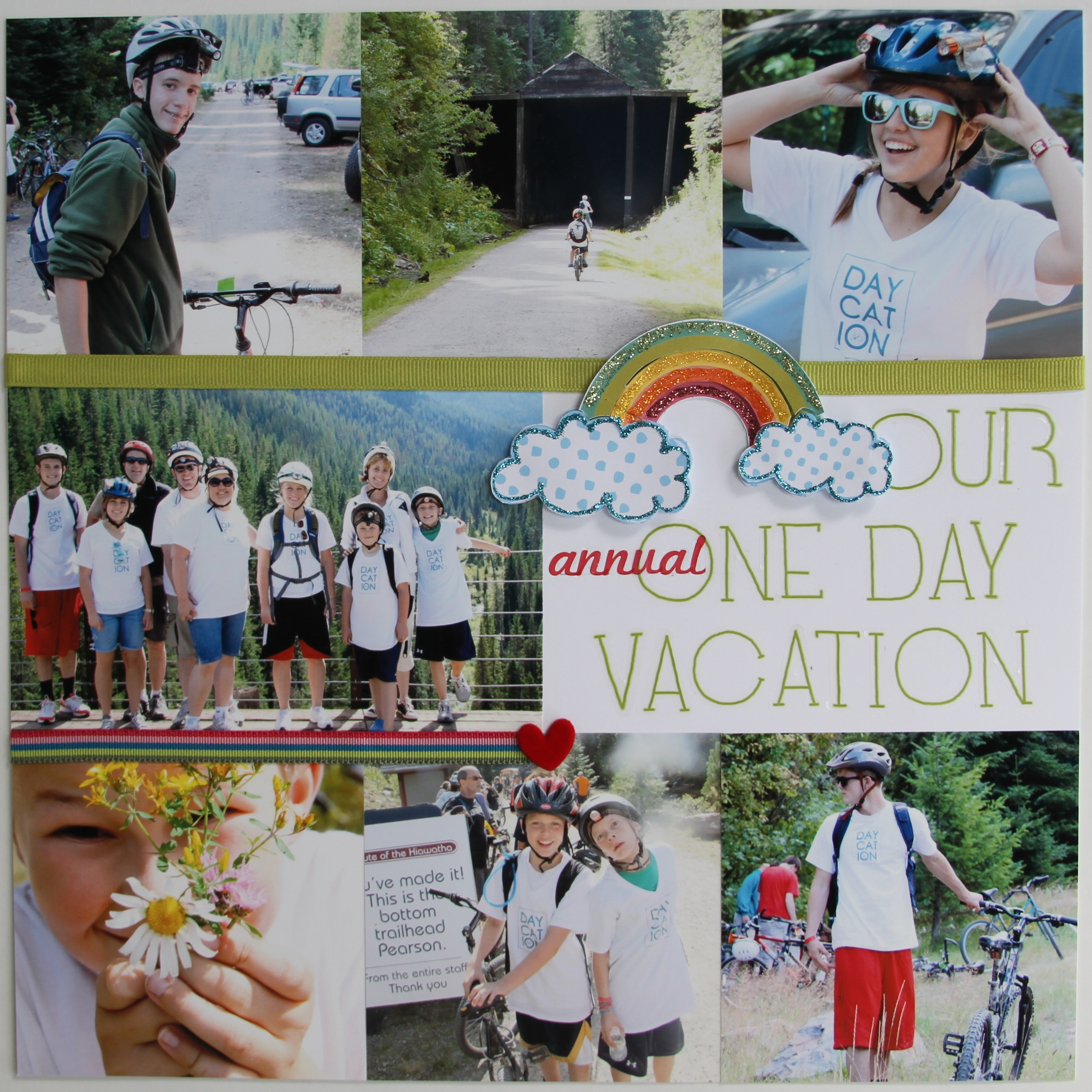 Our Annual One Day Vacation.