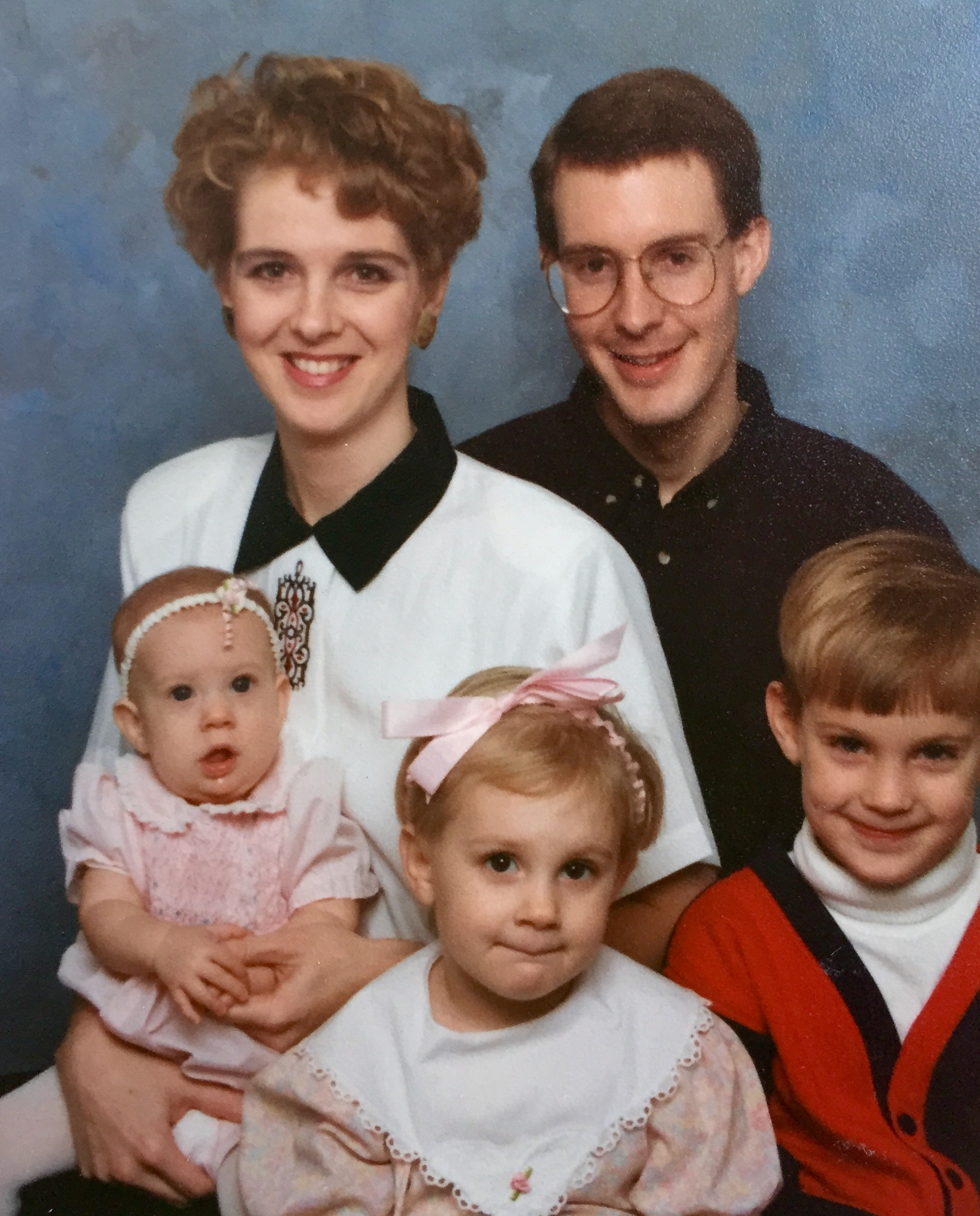 This is how I remember Julie's family in Chicago!