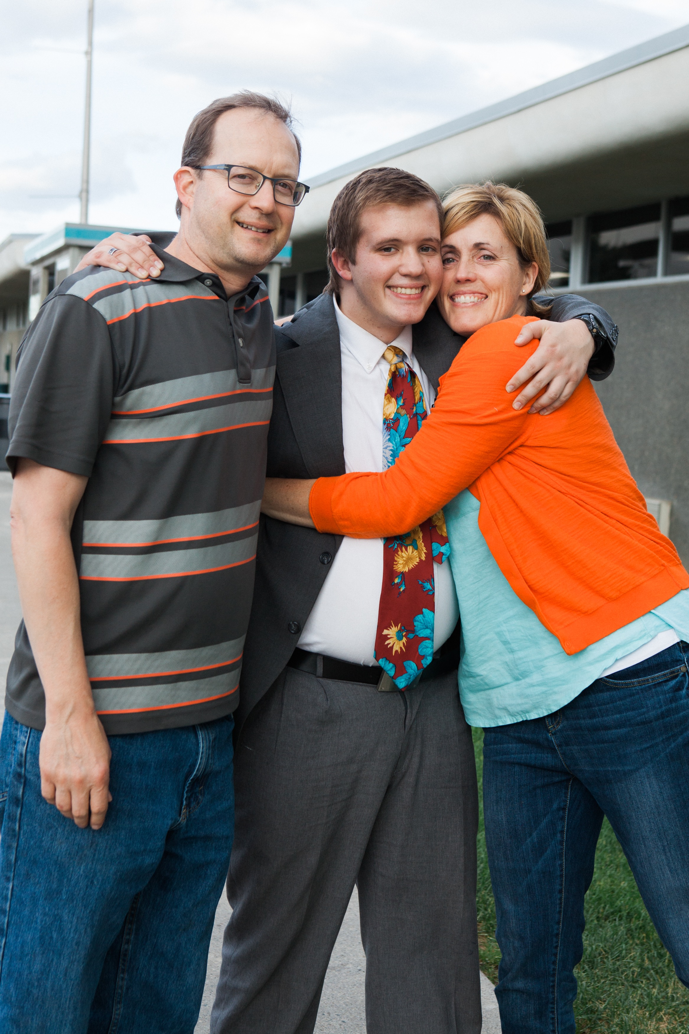 Greeting Chase at the Spokane airport on July 27th. He served an LDS mission for two years in the Missouri, St. Louis mission. So proud of him!