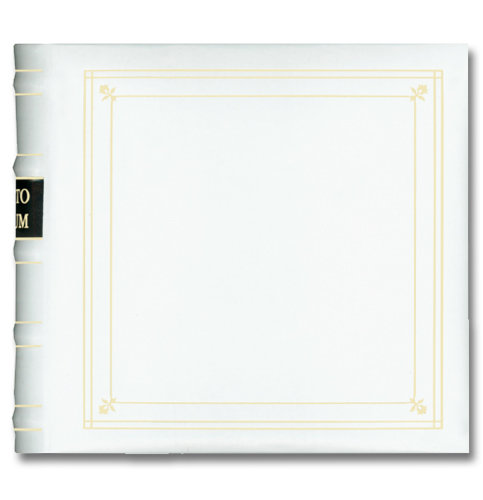 This is a 2-Up photo album by Pioneer. I have ten of these photos albums on one shelf in my studio (see image below), that I use as my Storage Binders.  You can purchase these binders HERE.