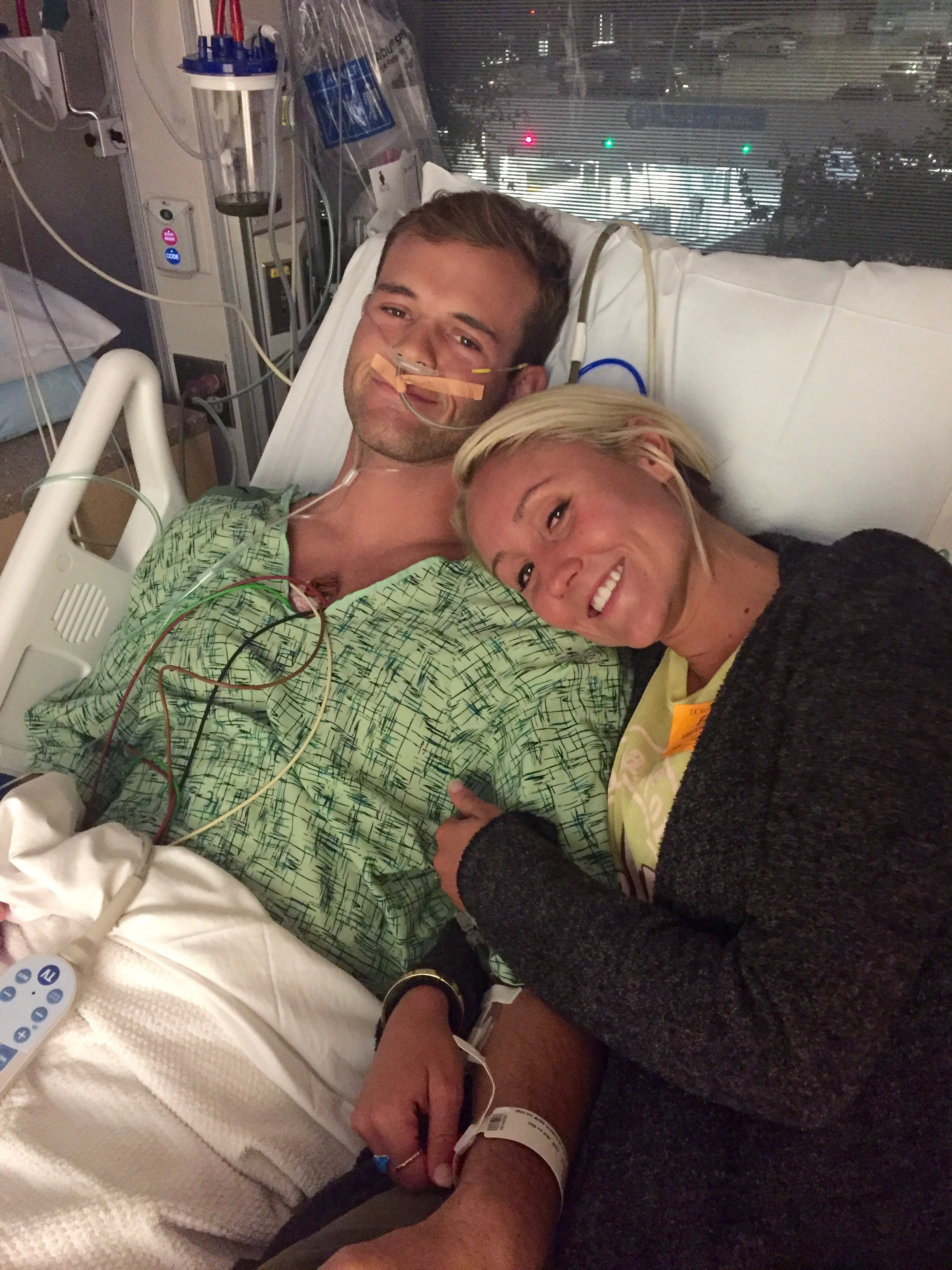 This is my favorite picture. What a sweetheart and comfort Lauren was. She stayed with Clark the whole time and gave patient encouragement.