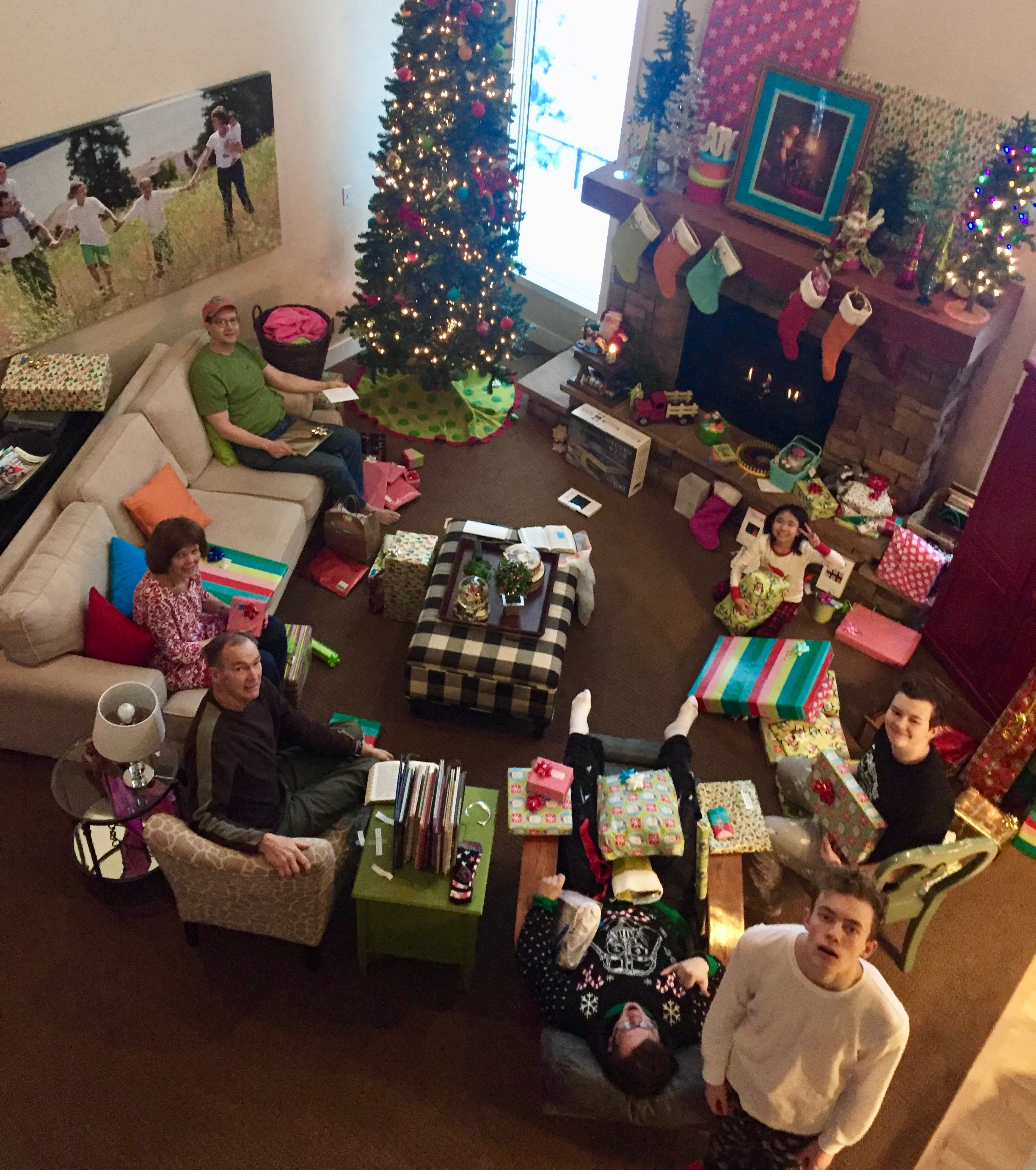 Christmas morning 2016.