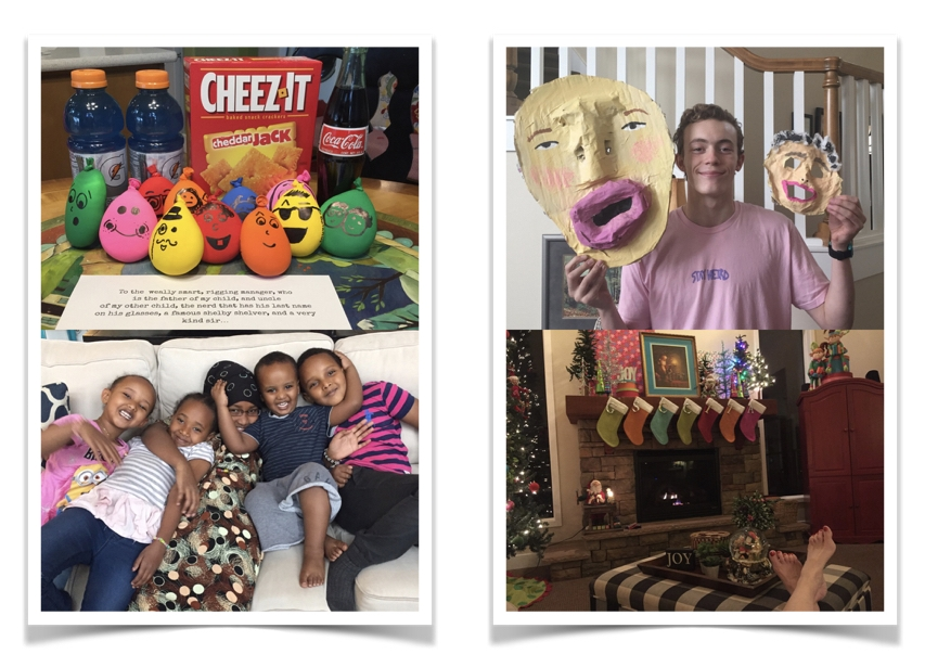 """Early today I used the  Project Life app  to make these two additional photos, which I uploaded to  Walgreens using their app . I LOVE how easy mobile makes using and printing photos! These photos will slip into my last 4, 4""""x3"""" pockets at the end of my album."""