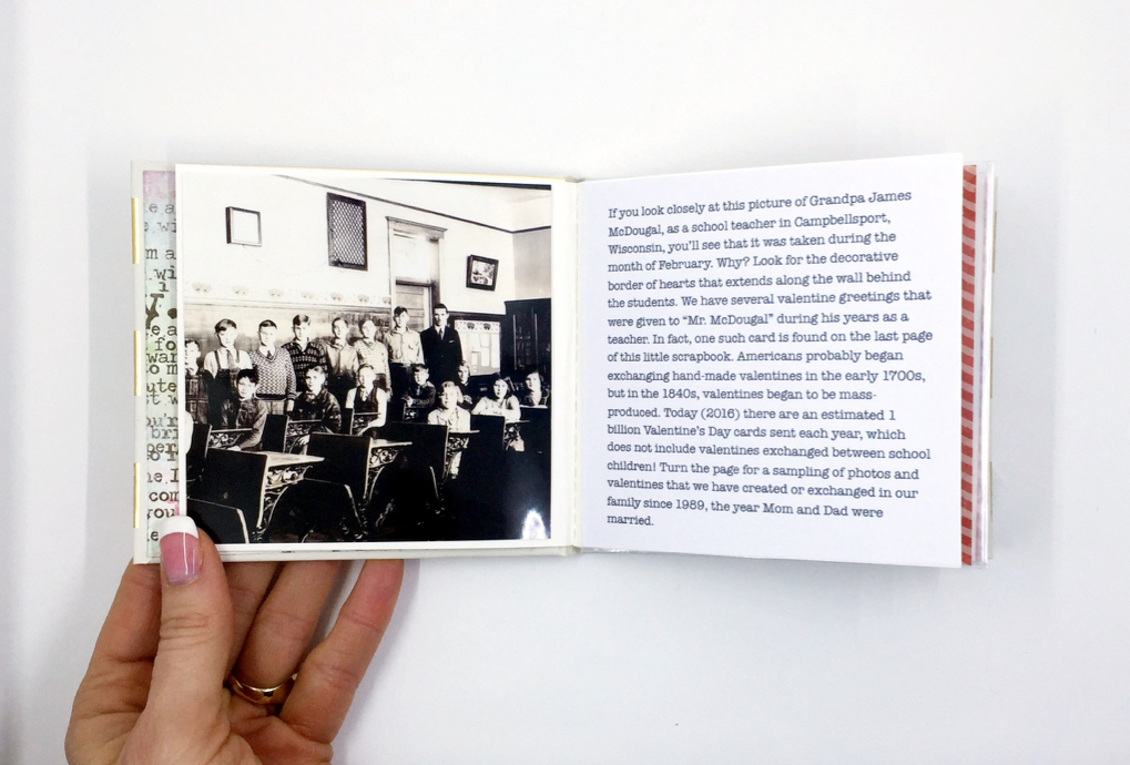 """To create a connected story like this one, I generally start with an """"older"""" photo—not necessarily a vintage photo, but a photo that depicts something from an earlier time period that you still do/observe today."""
