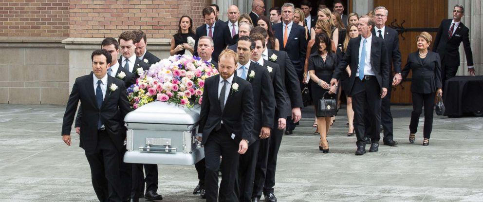image from Barbara Bush's funeral  CNN.com