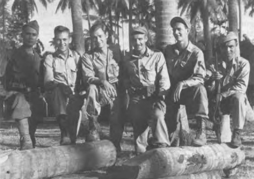 This is not an image of anyone I know, but these boys—barely men—serving in the Philippines must surely look similar to the boy who's story I'm sharing today. This image is from General McArthur's library collection.