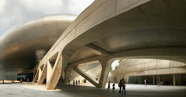 When I was last in Seoul 7 years ago, the city blew my mind. History does repeat itself. #architecture #design