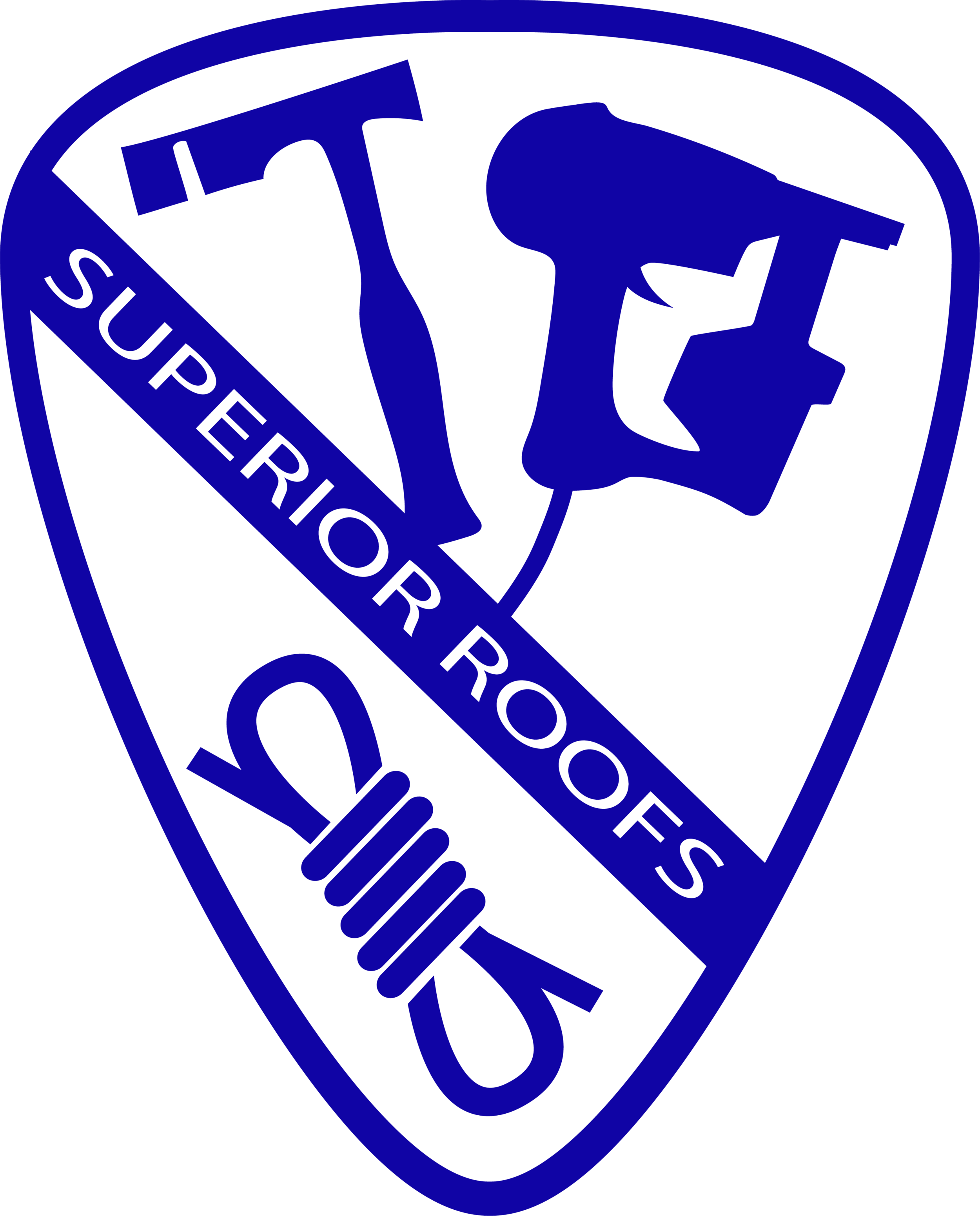 SUPERIOR ROOFS BY       SUPERIOR CREWS -