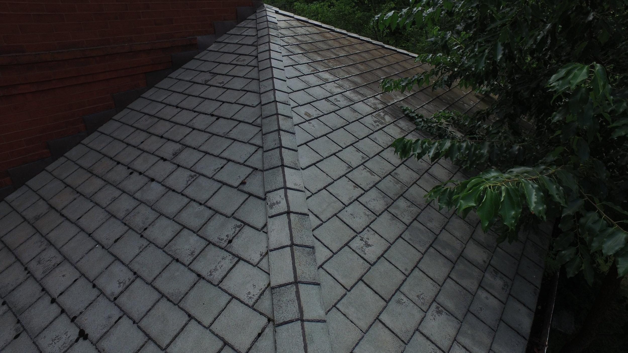 Hail Damage To Tile.JPG