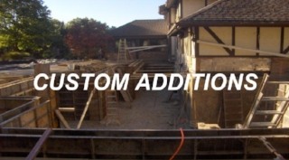 Custom Room Additions, decks and flat work.