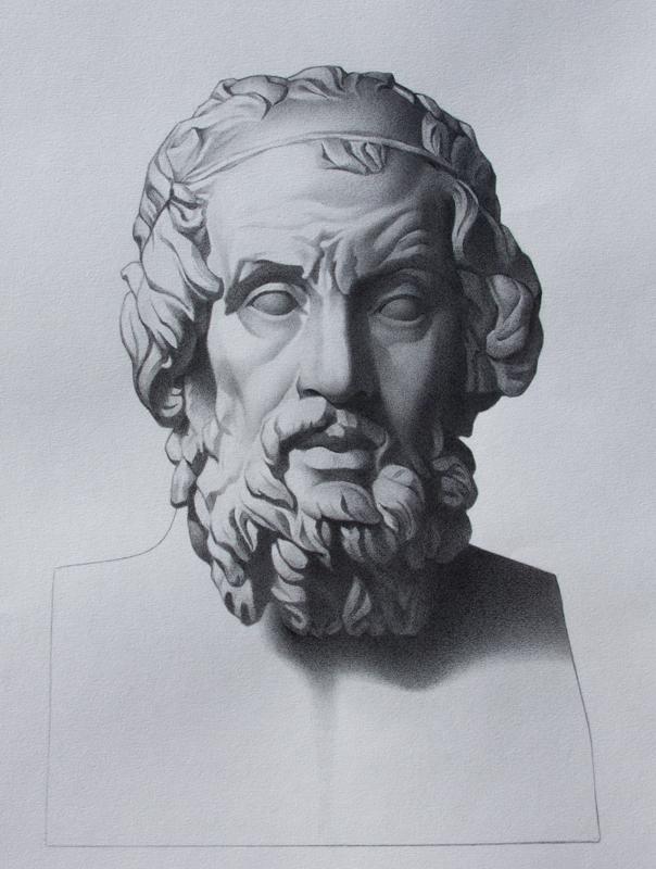 Homer - Bargue Copy