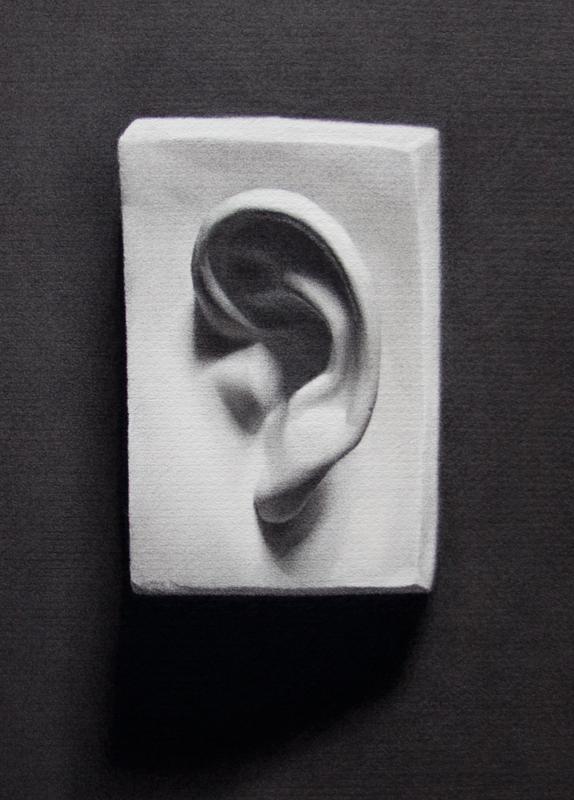 Ear Cast Drawing