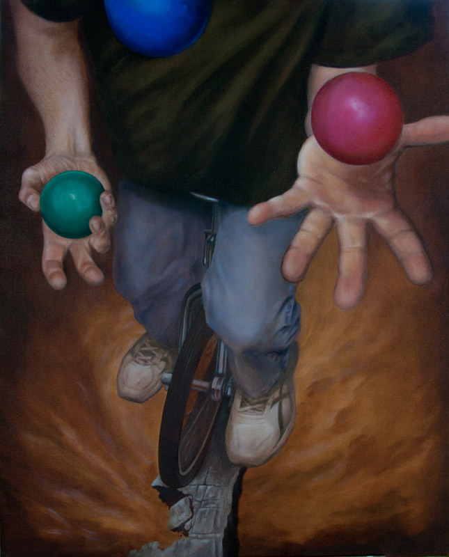 Self Portrait - Juggler