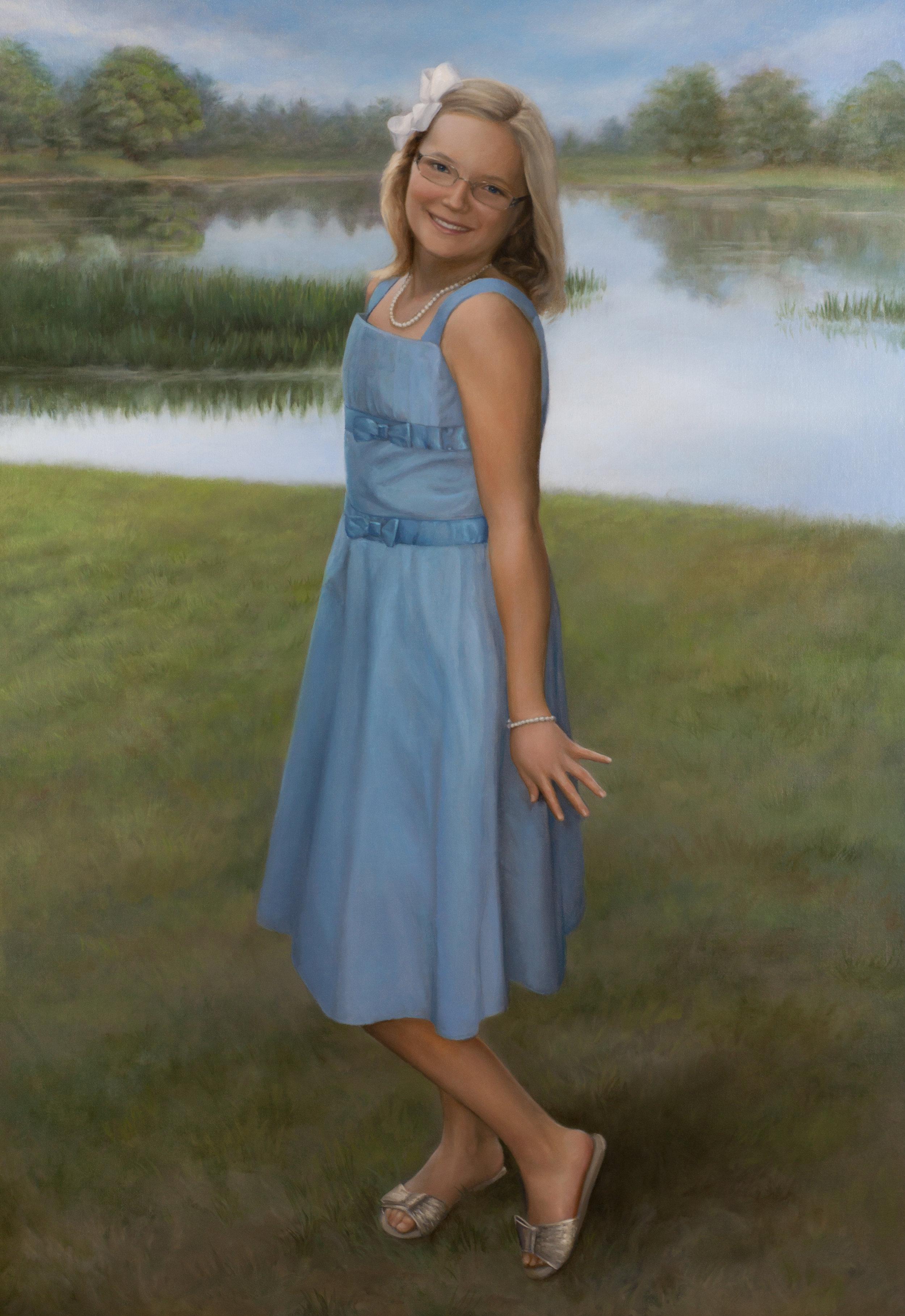 Portrait of Sally