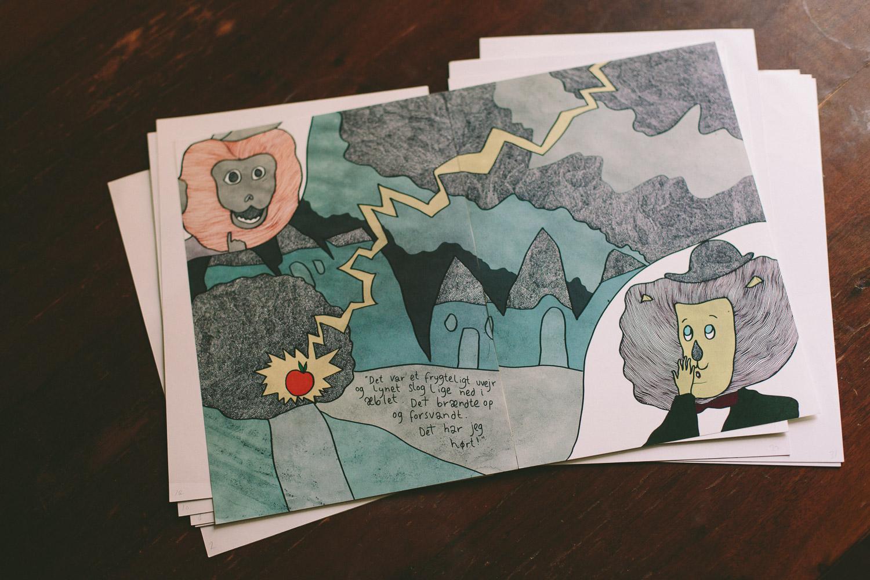 Upcoming children's book by Jan Oksbøl Callesen