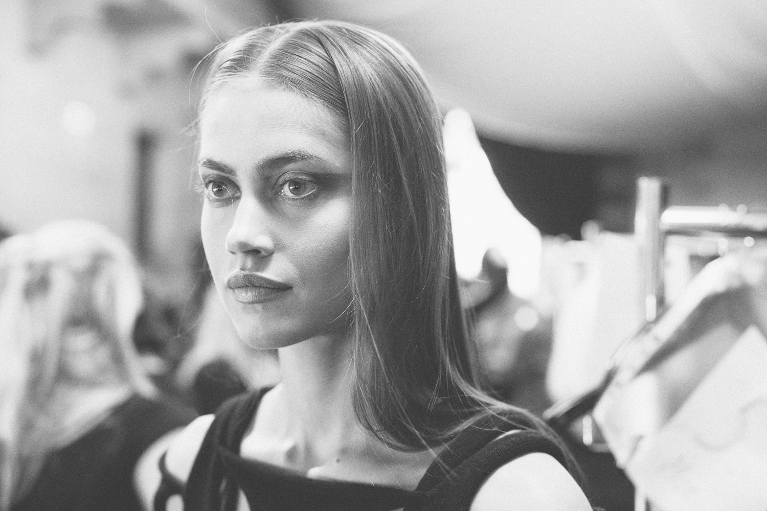Copenhagen Fashion Week, Stine Ladefoged backstage. By Kasper Nybo Photography.