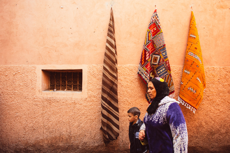 City of Marrakech, Morocco.