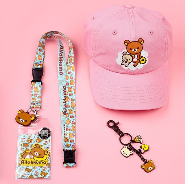 🐻Rilakkuma 🐻is too damn cute. Check out the linktree in our profile and check out some of our merch!