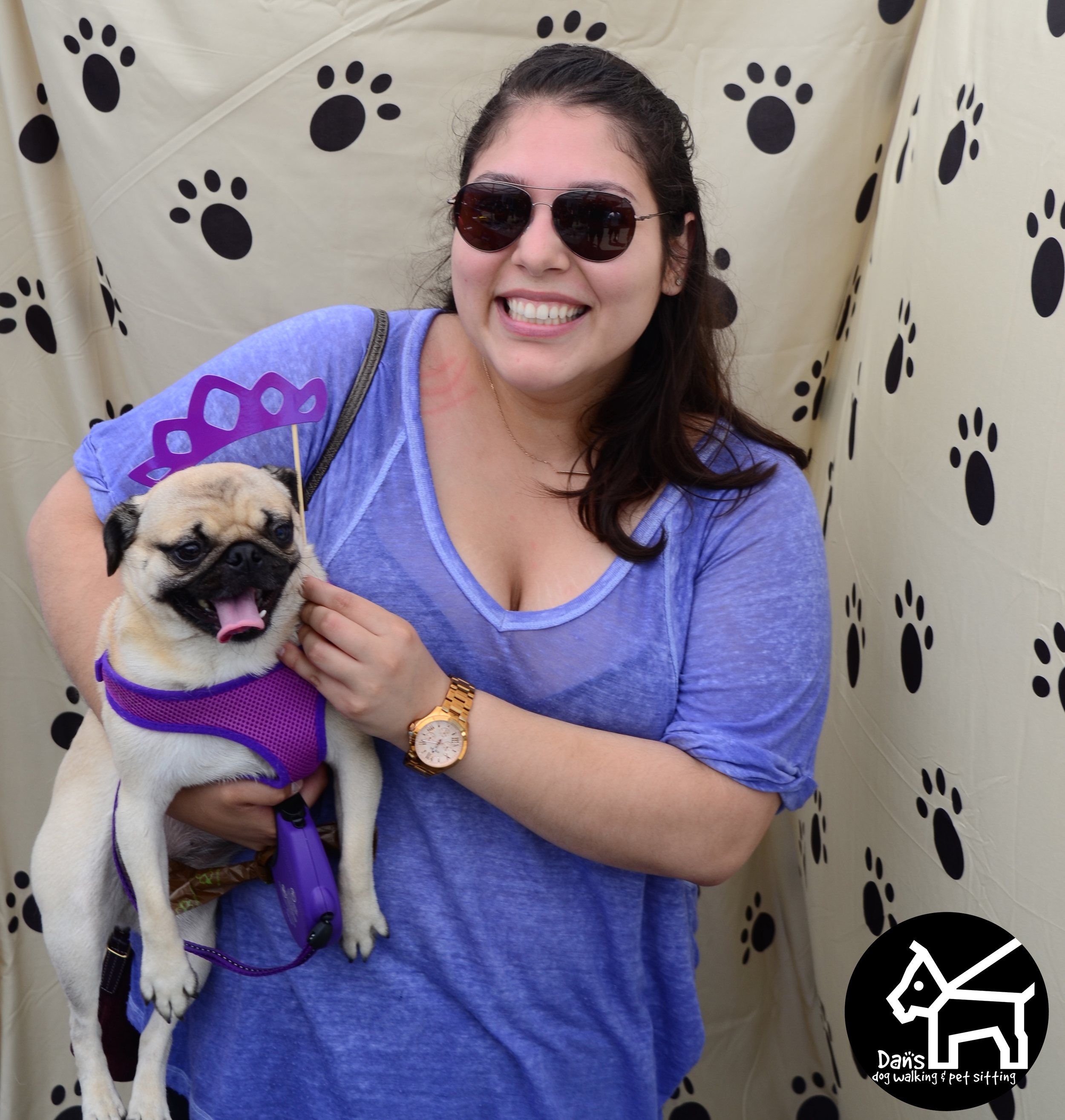 Andrea at the Dan's Dog Walking and Pet Sitting Photobooth.jpg