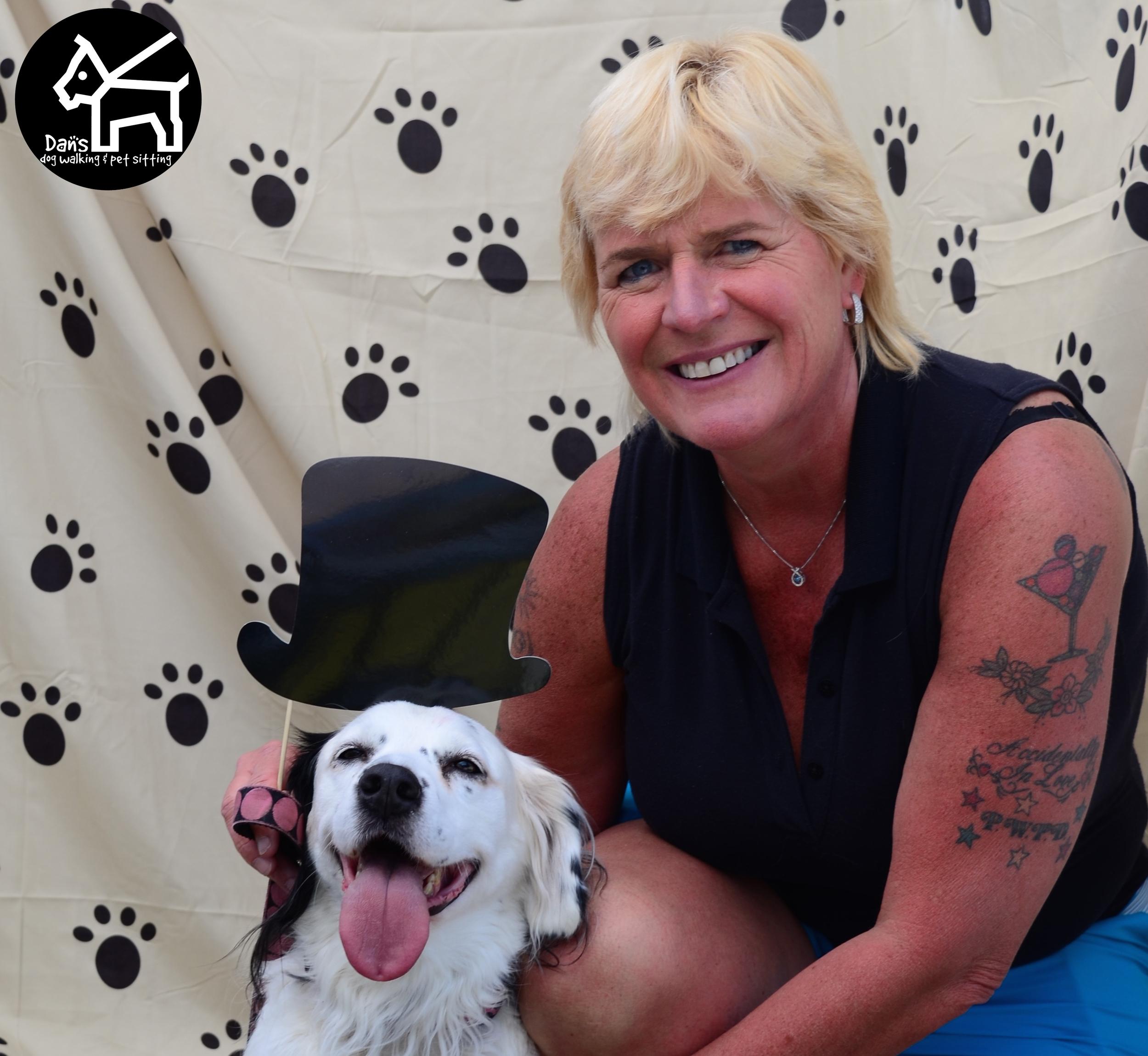 Dog with Hat Dan's Dog Walking Photobooth at Harbor Fest 2015.jpg