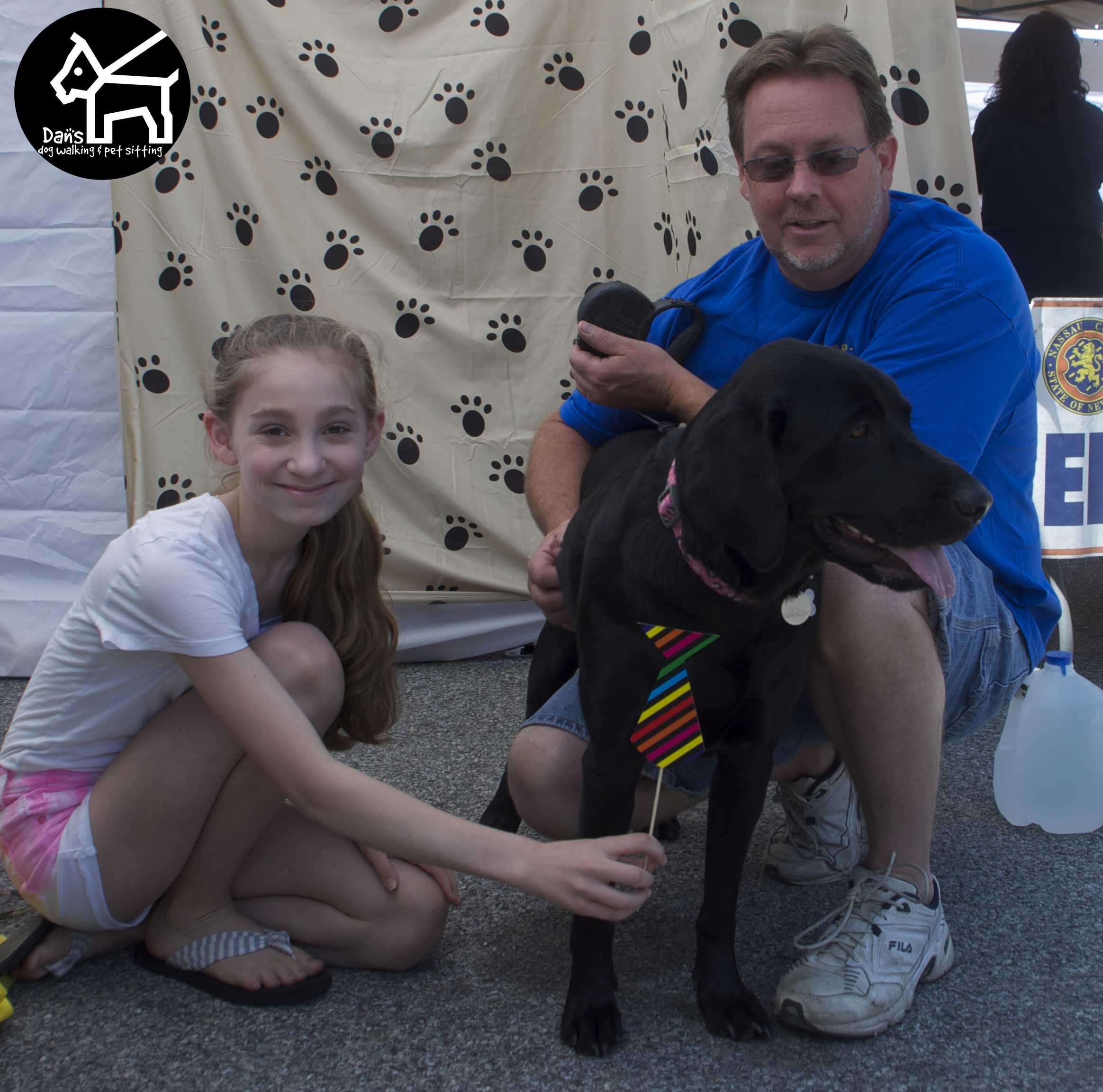 Great Family Photo at Dan's Dog Walking and Pet Sitting Doggie Photo Booth at Harbor Fest 2015.jpg