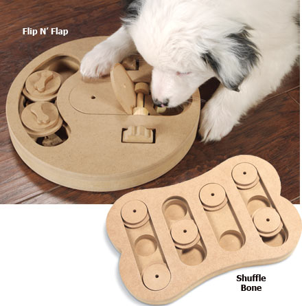 Seek-A-Treat Dog Toys
